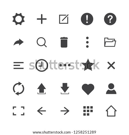 Icons:clock arrow present calendar… Stock Photo 218929717 - Avopix com