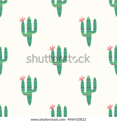 cactus with ornament