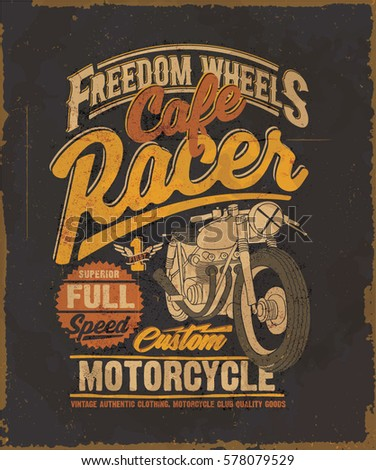 cafe racer motorcycle cafe