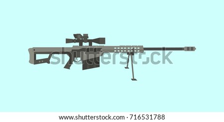 50cal caliber sniper rifle big