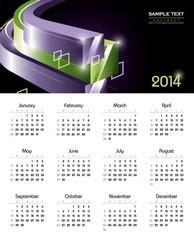 2014 Calendar.