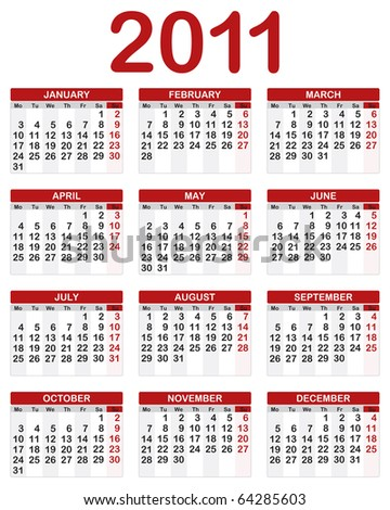 2011 Calendario.Calendario 2011 Free Brushes 39 Free Downloads