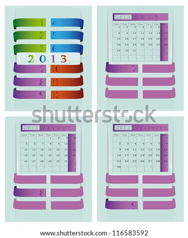 2013 Calendar for Website