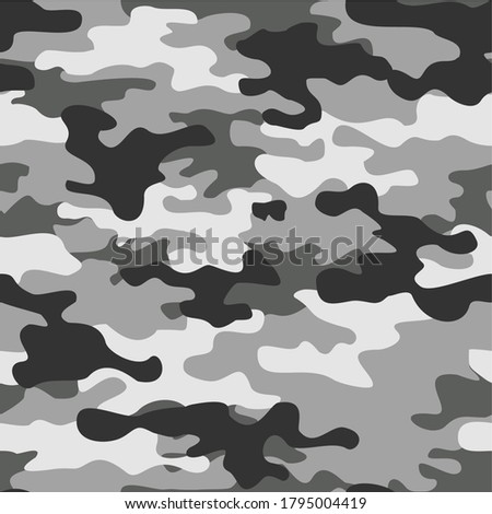 camouflage gray seamless