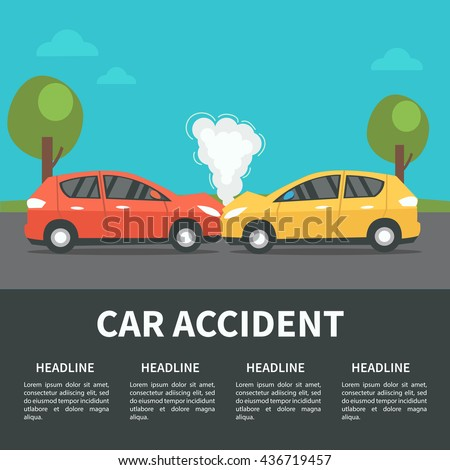car accident concept