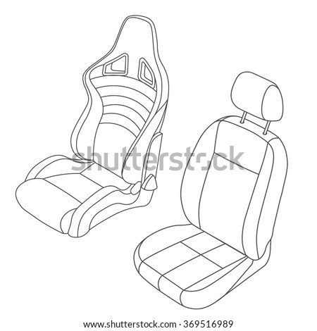 Iconswebsite icons website search icons icon set web icons car seat vector line drawing set malvernweather Images