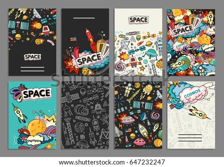 cards vector template