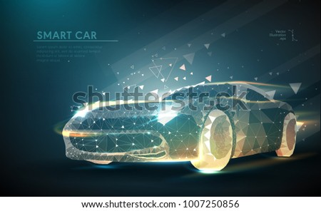 cars. abstract image of a...