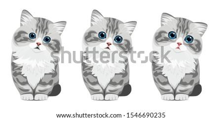 3 cats grammar adjective cute