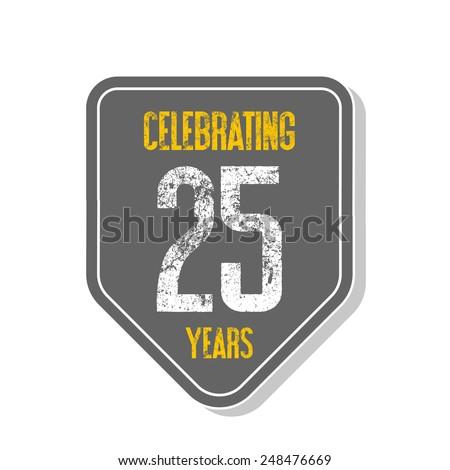 Celebrating 25 Years Banner Celebrating 25 Years Banner