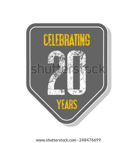 Celebrating 20 Years Banner Celebrating 20 Years Banner