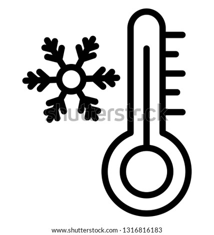 Celsius Vector Icon which can easily modified or edit