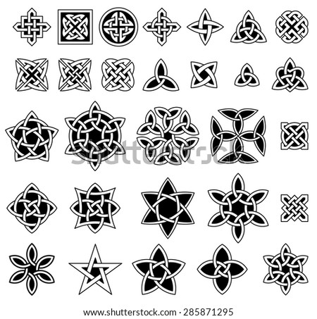 Celtic Knots Vector Set Download Free Vector Art Stock Graphics