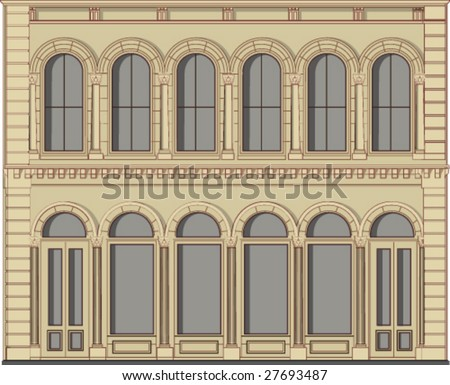 19-century building as a hotel, or a bank, or a boutique etc.