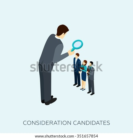 choosing a candidate for a job