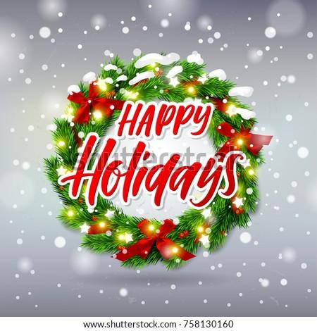 christmas greeting card xmas