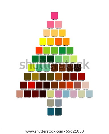"""christmas_tree"" - stock vector"