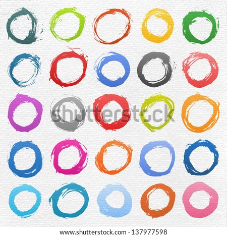 stock-vector--circle-form-brush-stroke-drawing-created-in-ink-sketch-handmade-technique-colors-shapes-on