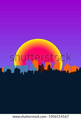 city   atmosphere vector