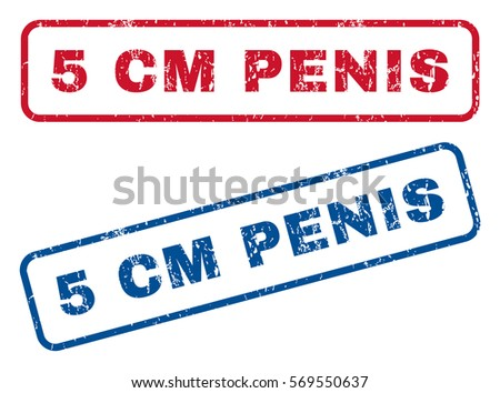 5 cm penis text rubber seal