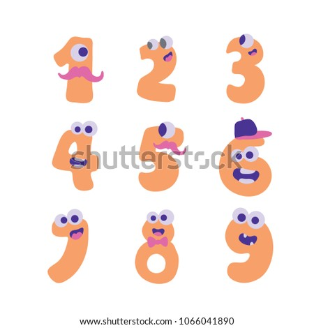 collection of numerals for