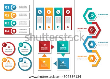Free business powerpoint templates pack 01 download free vector 5 colorful multipurpose presentation infographic element and light bulb symbol icon template flat design set for toneelgroepblik Image collections