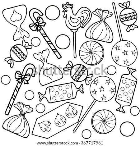 Royalty-free Coloring book.Seamless pattern. Hand… #367724270 ...