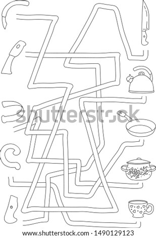 coloring books kids labyrinth