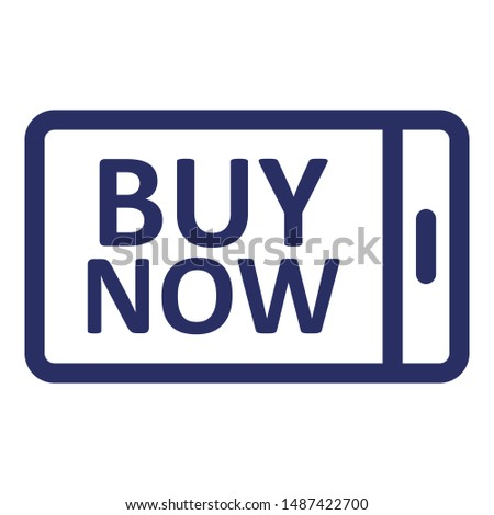Commerce, e commerce Outline Vector icon which can easily modify or edit