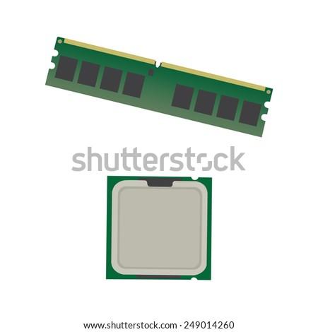 computer processor and memory