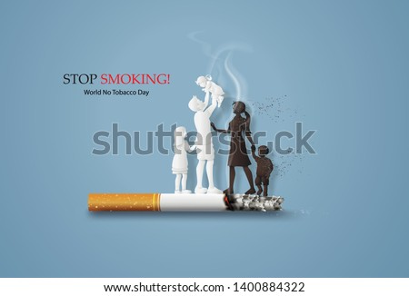 concept of no smoking and