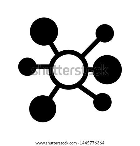 Connection Icon Mark Vector Illustration