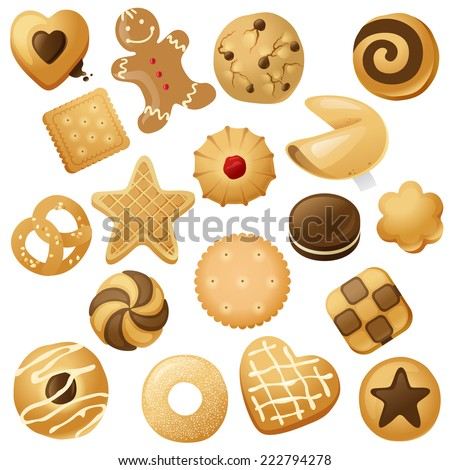 18 cookie icons  for your