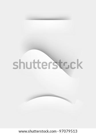corners - stock vector