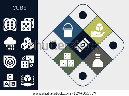 ABC Cubes Vector Icon - Download Free Vector Art, Stock