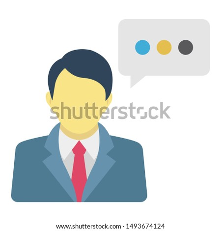 Customer, customer care Isolated Vector Icon which can easily modify or edit