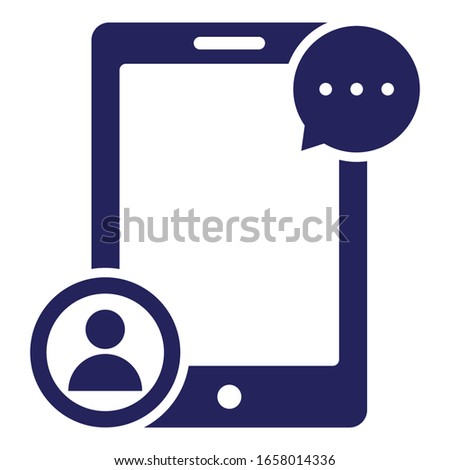 Customer representative, customer service Vector Icon which can easily modify or edit
