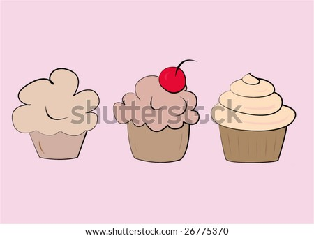 cupcakes cartoon background. wallpaper Cartoon Black And White pink cupcakes cartoon. images pink