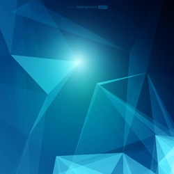 3D Abstract Geometric Background for Design | EPS10 Illustration