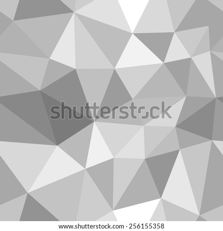 Different Shades Of Gray lowpoly grey gradient - download free vector art, stock graphics