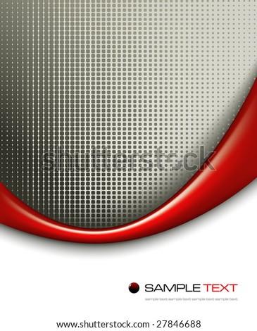 3d background composition - vector illustration - jpeg version in my portfolio