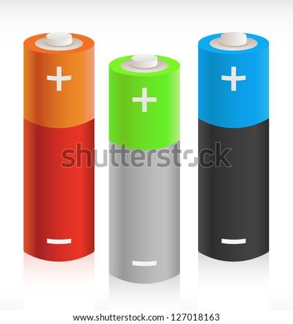 3D Batteries - Portable Energy Storage Concept Picture