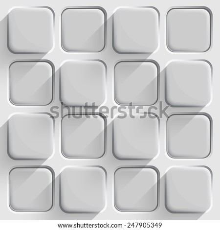 stock vector  d buttons seamless background pattern can be used as infographics web design 247905349 - Каталог — Фотообои «3D Текстуры»