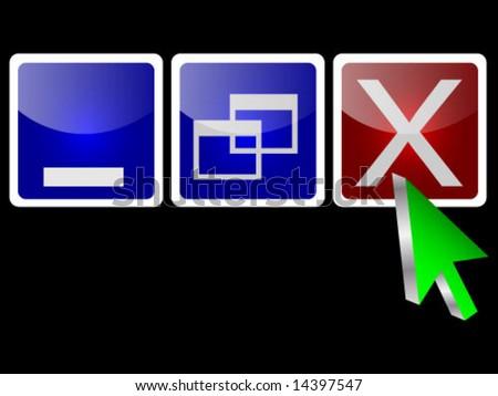 3d cursor pushing exit button
