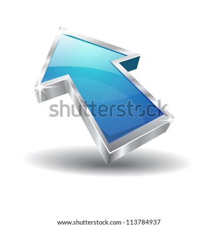 3d Glossy Vector Icon