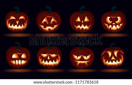 3d halloween carved pumpkin