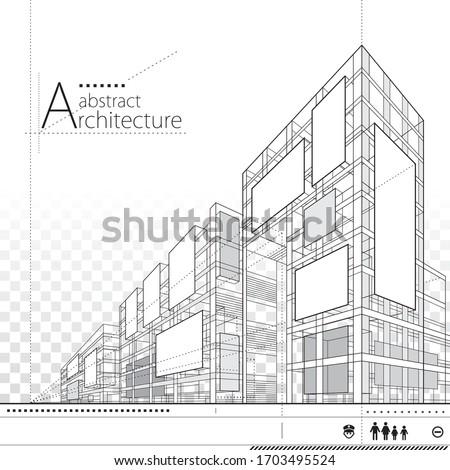 3d illustration architecture