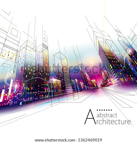 3d illustration architecture