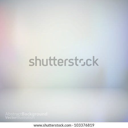 3d isolated Empty Background for exhibit. Vector illustration.