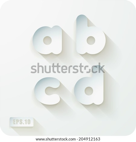 Vector Images Illustrations And Cliparts 3d Joyful Set Of Cut